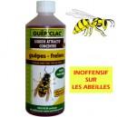 GUÊP'CLAC - Liquide attractif concentré - Guêpes-frelons
